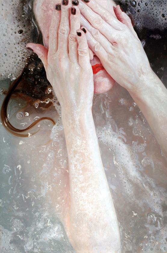 design magazine  Amazing photorealistic oil paintings by Alyssa Monks