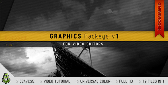 resources premium  Only $20 for over $500 worth of amazing After Effects projects files