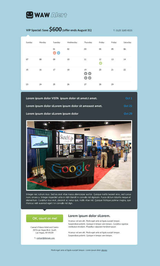 20 WordPress Event Calendar and Event Management templates – Management Calendar Template