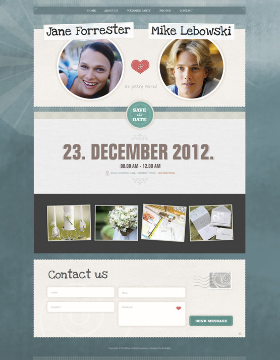 Wordpress Event Theme - Event Management Website Templates