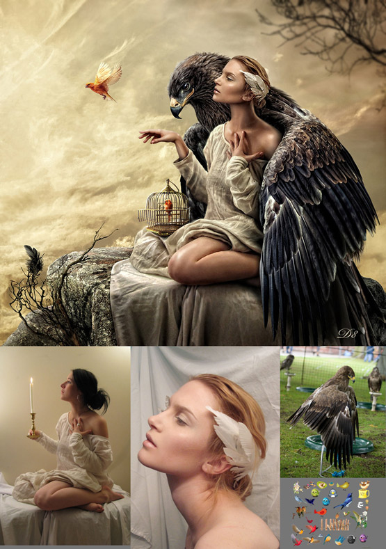 graphic design design magazine  Photo Manipulation   35 examples of photo manipulation to learn graphic composition