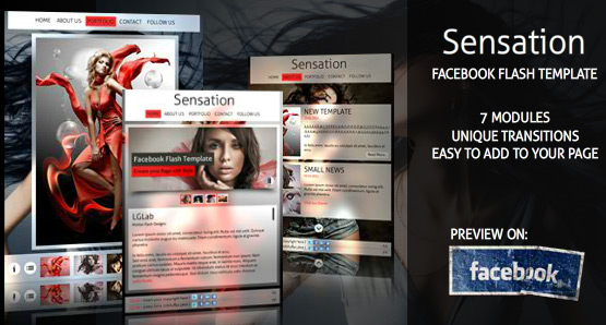 Facebook Fan Page Template