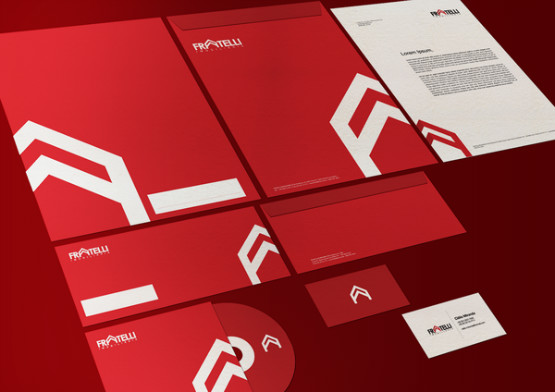 inspiration design magazine  45 Renders of branding and corporate identity designs