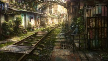 art railroad_by_Jonas De Ro