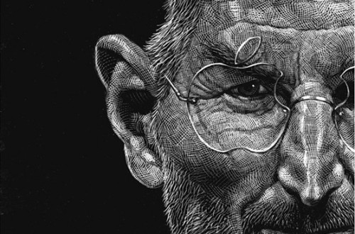 Scratchboard Illustrations by Ricardo Martinez