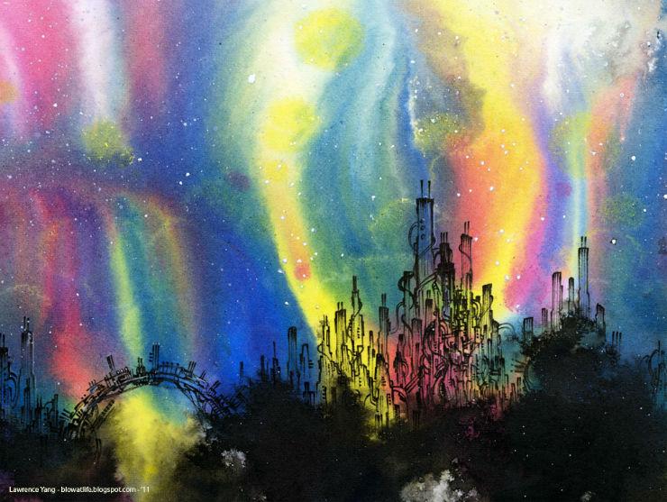 Lawrence Yang art aurora