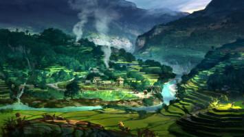 xiangyuan jie concept art artist