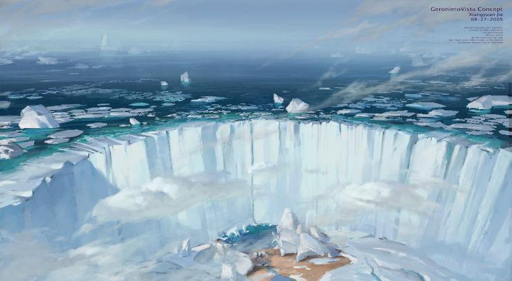 xiangyuan jie concept art ice age
