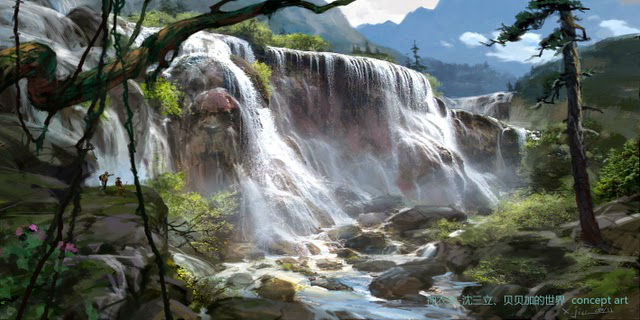 xiangyuan jie digital art