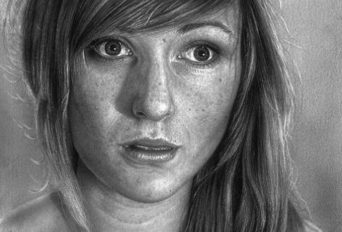 Pencil art by Damian May