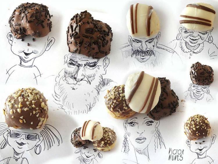 Victor Nunes inspirational sketches