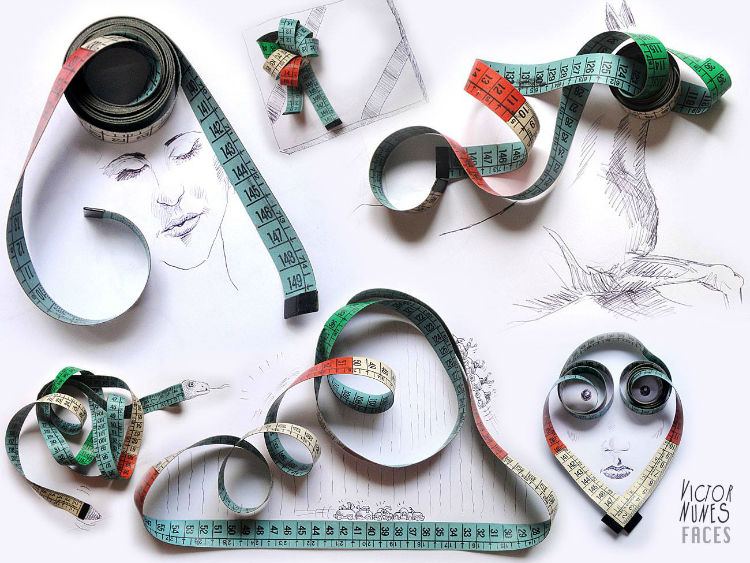 Victor Nunes object faces