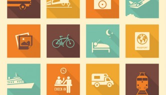 36 Free Travel Vector Icons Pack For Download