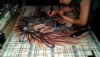 Showcase of Paula Duta art