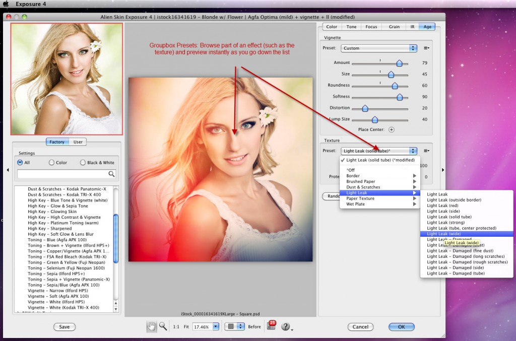 Exposure 4 Photoshop Plugin