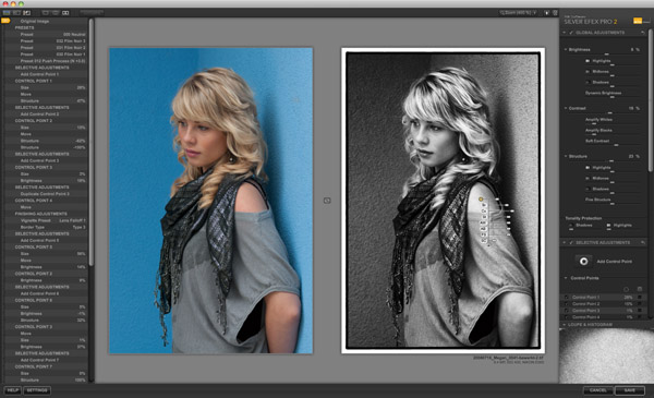 Silver EFEX Pro 2 Photoshop Plugin