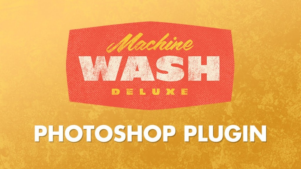 Machine Wash Deluxe Photoshop Plugin