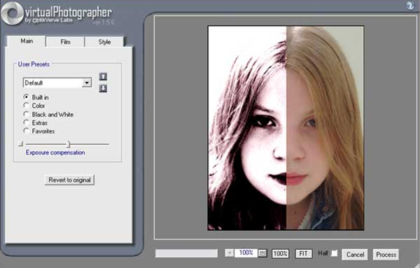 Virtual Photographer Photoshop Plugin
