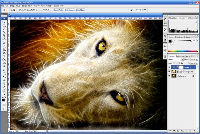 Fractalius Photoshop Plugin