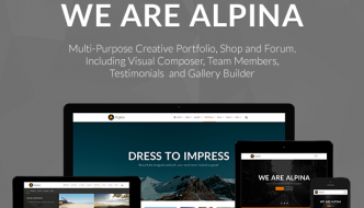 New WordPress Bootstrap Themes And Templates