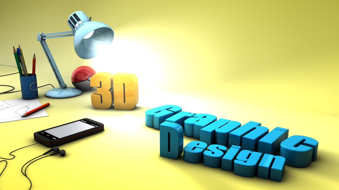 3d graphic design by moiseshenrique