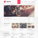 Agency – Beautiful, Clean and Minimal WordPress Theme