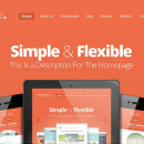 Nimble &#8211; Simple and Clean WordPress Theme