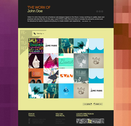 30 Free and Premium HTML5 templates