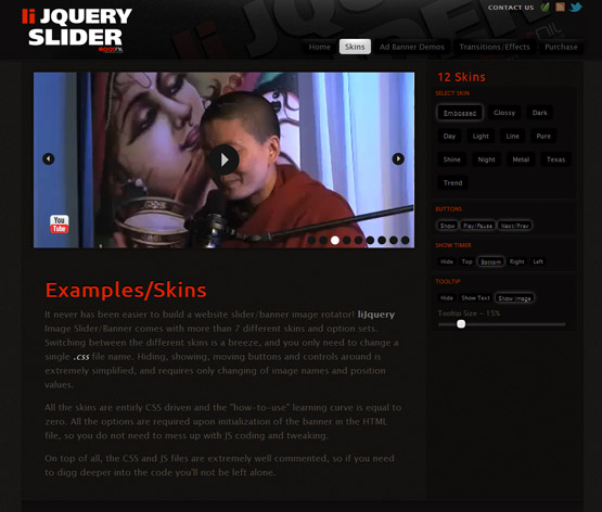 jQuery Image Slider and Banner Image Rotator -