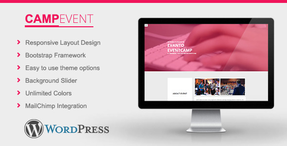 CampEvent - Conference, Event WordPress Theme