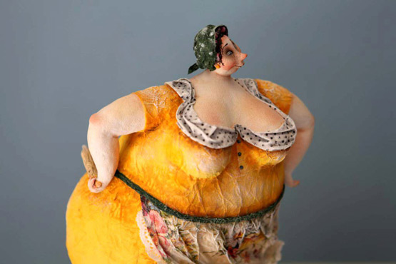 Amazing doll sculptures by Katia