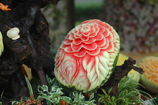 20 Watermelon carving art examples