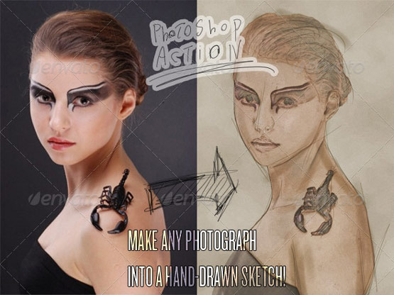 25 Adobe Photoshop actions for Photography Touch-Up and Enhancement