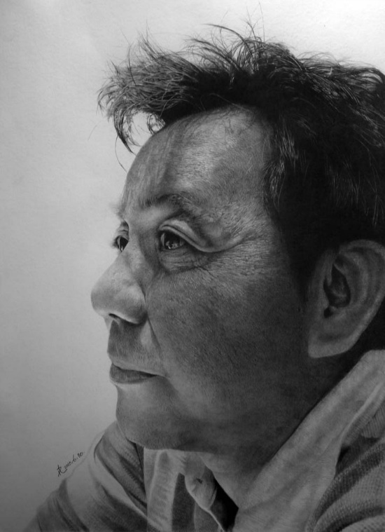 amazing realistic pencil graphite drawings by paul lung