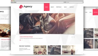 Agency – Beautiful, Clean and Minimal WordPress Theme