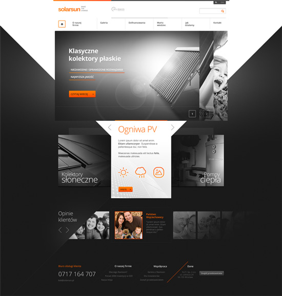 Homepage Web Design Tips: 35 Web Designs Layouts With Unusual Shapes And Geometry