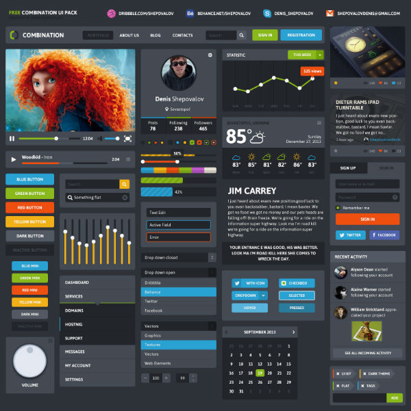Combination UI Pack 15