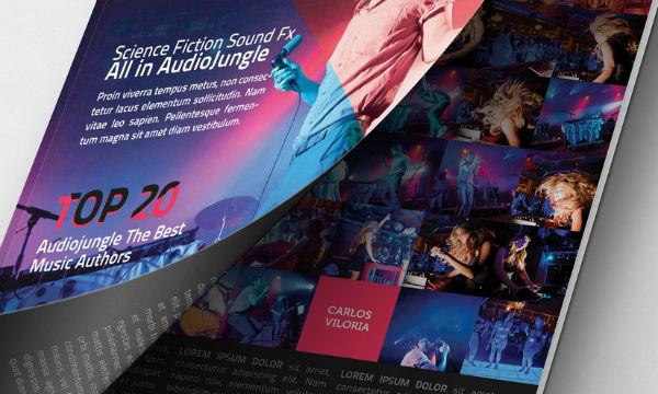 free psd Magazine Mockup Cover Opening 5