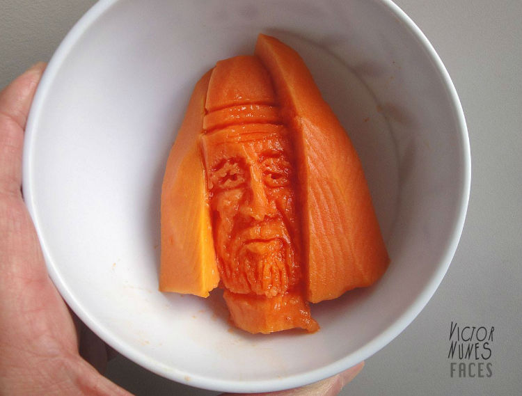 Victor Nunes carrot food art