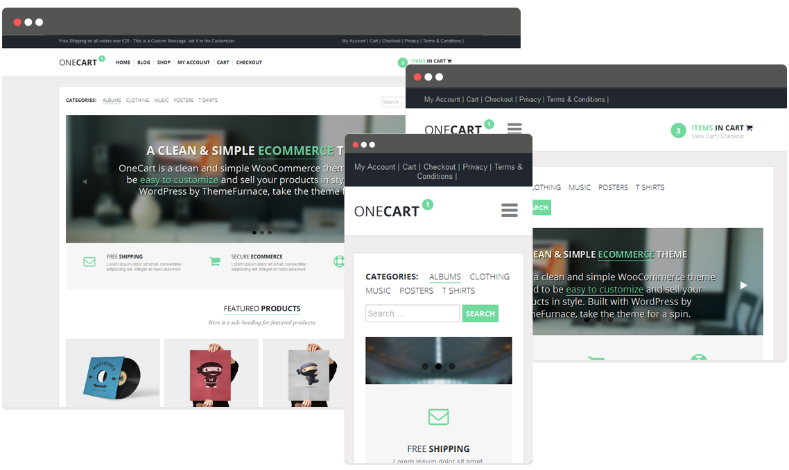 20+ Easy to Use WooCommerce WordPress Themes
