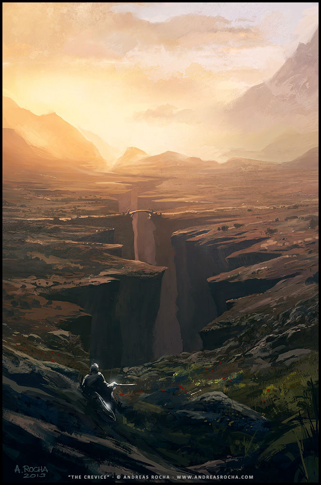 Andreas Rocha - art - The Crevice