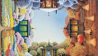 Fantasy and surreal paintings by Jacek Yerka