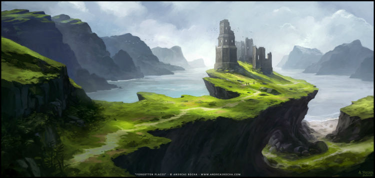 Andreas Rocha S Digital Illustration And Concept Art