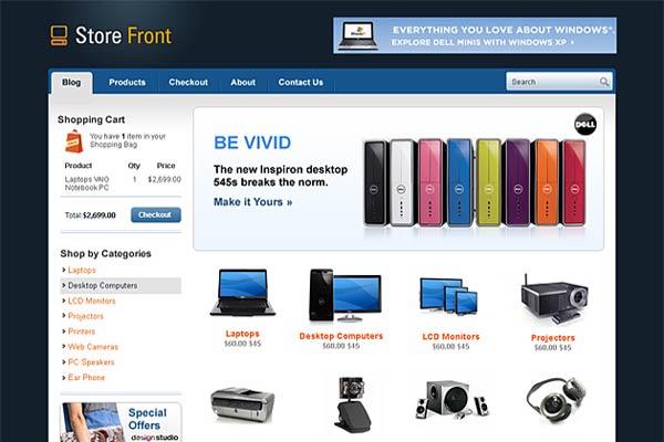 Storefront Adaptive WooCommerce WordPress Theme