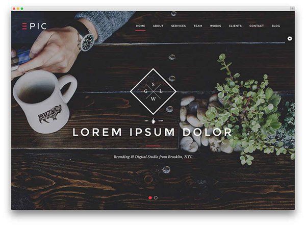 Free WordPress One Page Parallax Themes0013