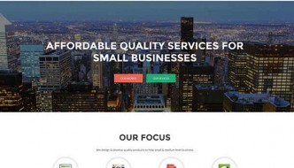 One Page Portfolio WordPress Themes