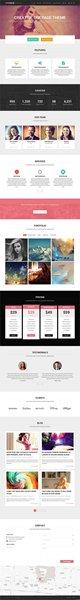 One Page Portfolio WordPress Themes009