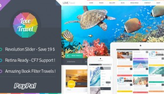 20 Responsive WordPress Travel Themes For 2015
