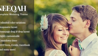 20 New Wedding WordPress Theme
