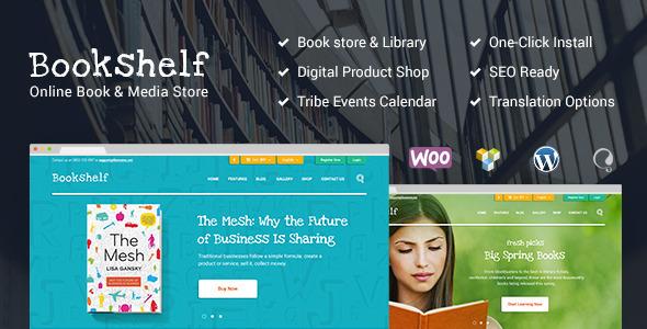 BookShelf   Books & Media Online Store